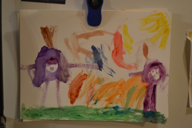 "A Watercolor by Nora: ""Mama and Me"""