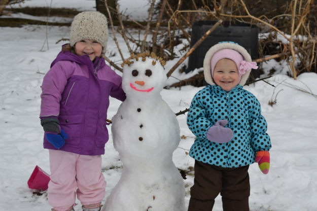 Our family Snowgirl.